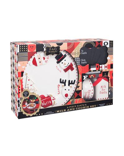 5-Piece Santa's Milk and Cookie Set