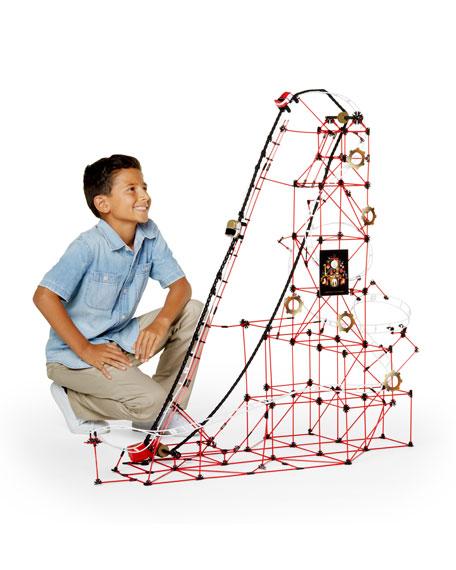 Kids' Roller Coaster Building Set, 753-Pieces