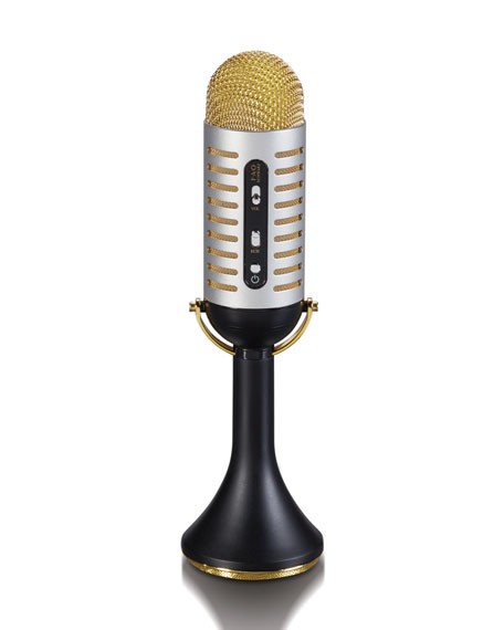 Bluetooth Vintage Musical Microphone