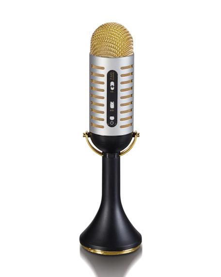Bluetooth Vintage Musical Microphone
