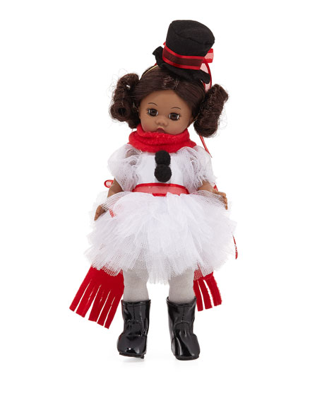 Snowman Ballerina Doll