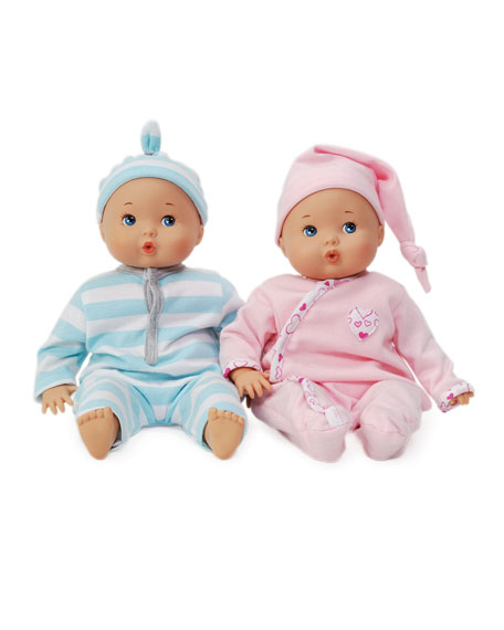 Little Love Twins Baby Dolls, Set of 2