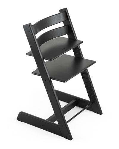 Tripp Trapp® Premium Oak Collection Chair, Black