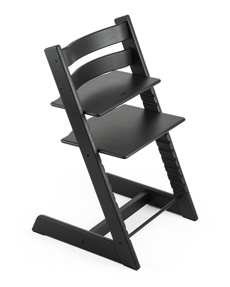 Tripp Trapp® Premium Oak Collection Chair, Black