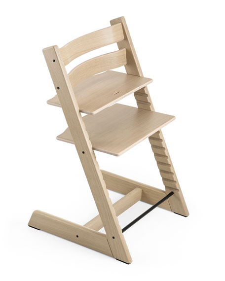 Tripp Trapp® Premium Oak Collection Chair, White