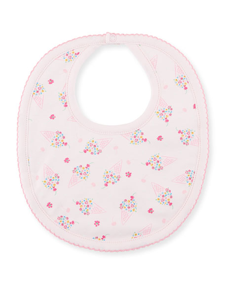 Kissy Kissy Cherry on Top Printed Pima Bib