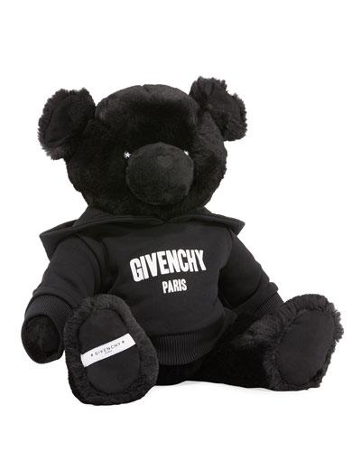 Plush Teddy Bear w/ Logo Hoodie