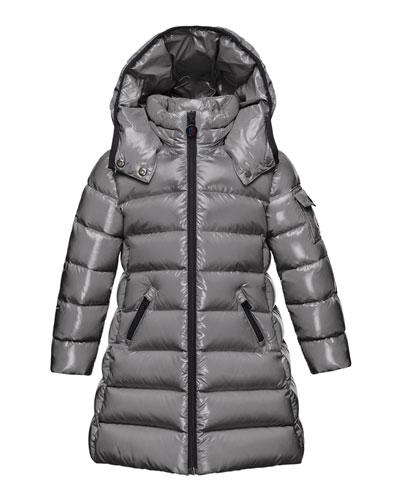 Moka Hooded Puffer Coat, Size 4-6
