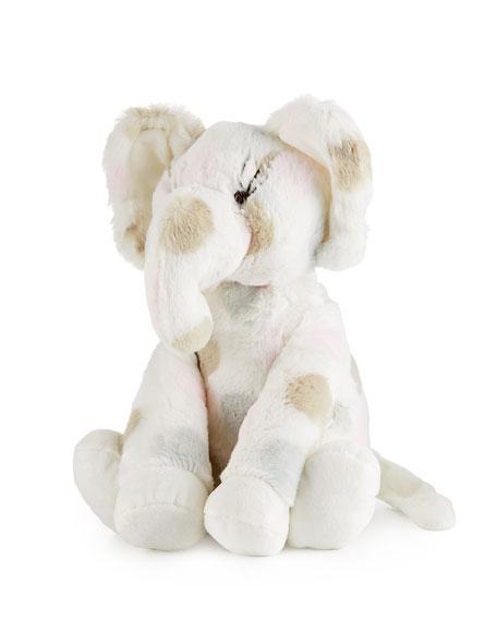 Little Giraffe Little E™ Plush Polka-Dot Elephant, Pink