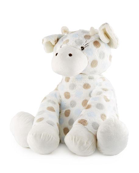 Little Giraffe Big G™ Plush Polka-Dot Giraffe, Blue