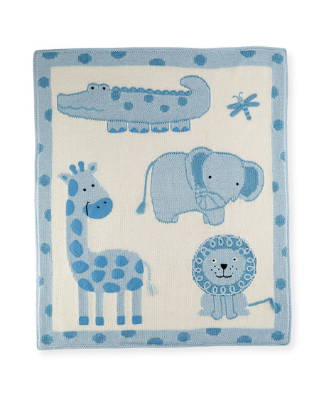 Jungle Cotton Baby Blanket
