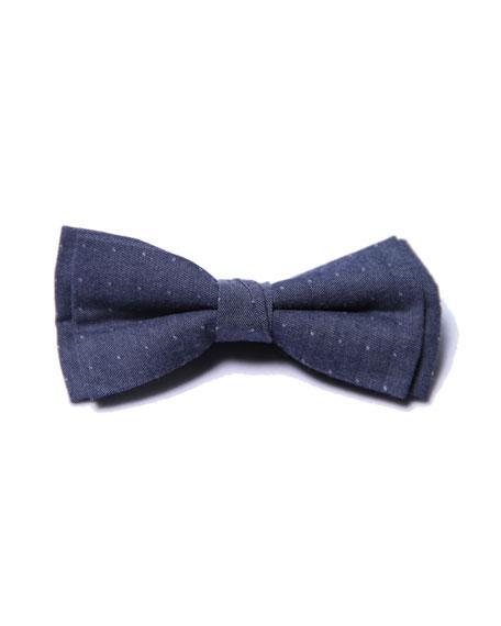 Boys' Dot Bow Tie, Blue