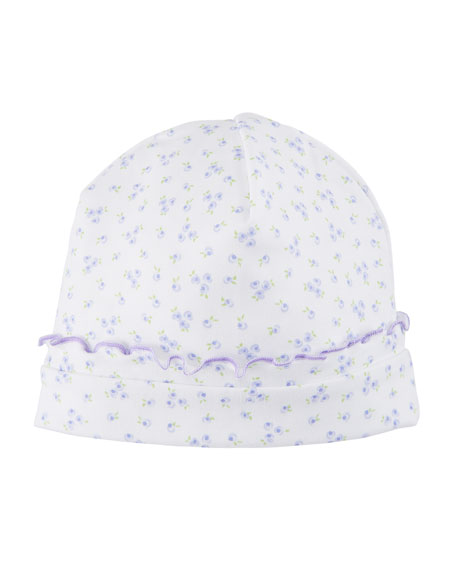 Little Girls Dreams Floral Pima Baby Hat