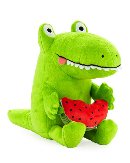 Greg Pizzoli's Kroc and Watermelon Soft Toy Pair
