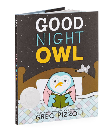 Good Night Owl Hardcover Book by Greg Pizzoli