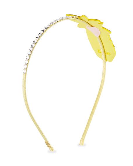 Girls' Crystal Pineapple Headband