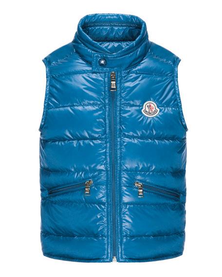 Gui Lightweight Puffer Vest, Sizes 4-6