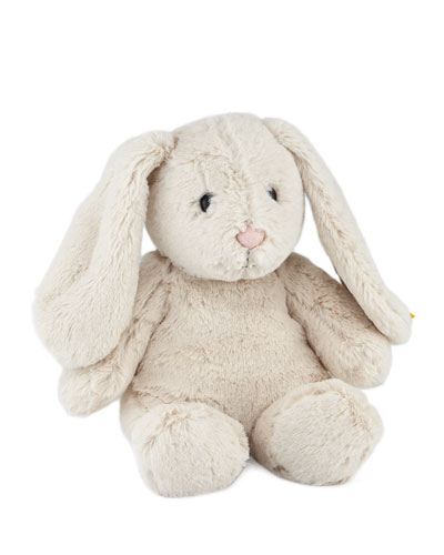 Medium Hoppie Rabbit, Light Grey