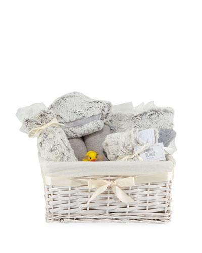 Aspen Plush Gift Basket