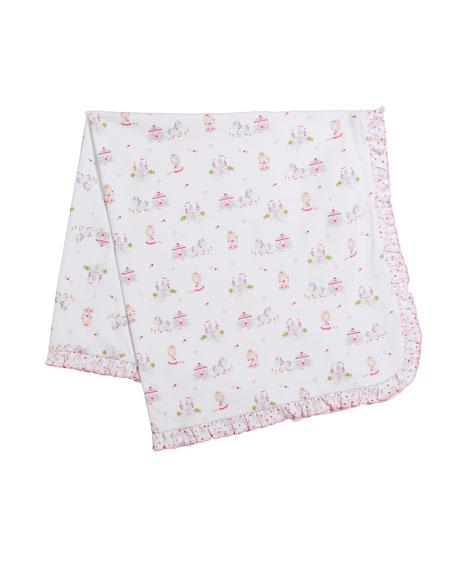 Queen of the Castle Pima Baby Blanket