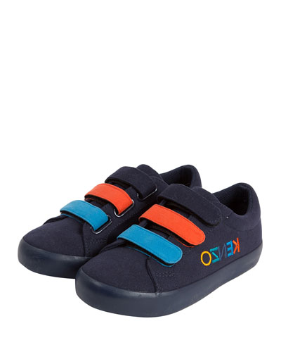 Colorblock Logo-Sides Sneakers, Toddler/Kids
