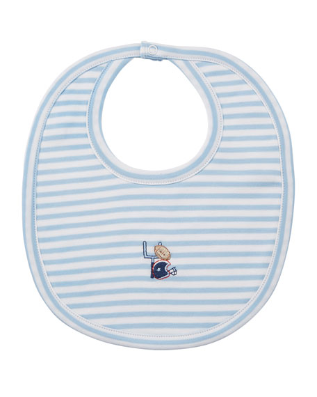 Fall Sports Striped Bib