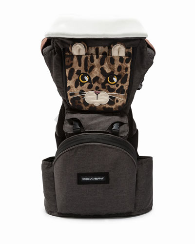 Leopard-Print Baby Carrier