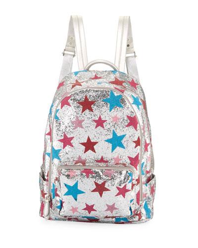 Girls' Shimmer Star Backpack