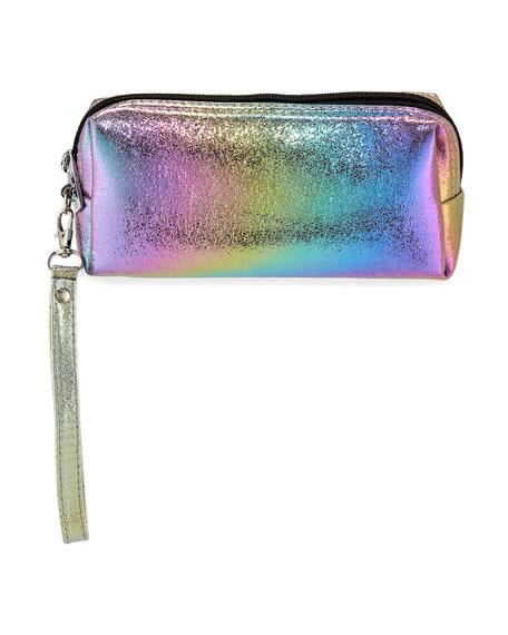 Bari Lynn Galaxy Iridescent Pencil Case