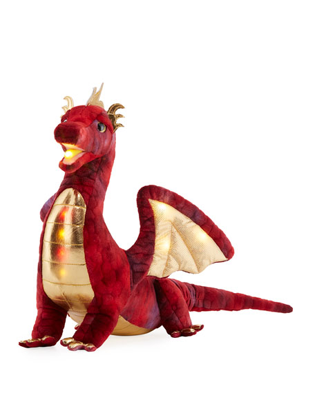 Douglas Kazra the Dragon Light-Up Plush Toy