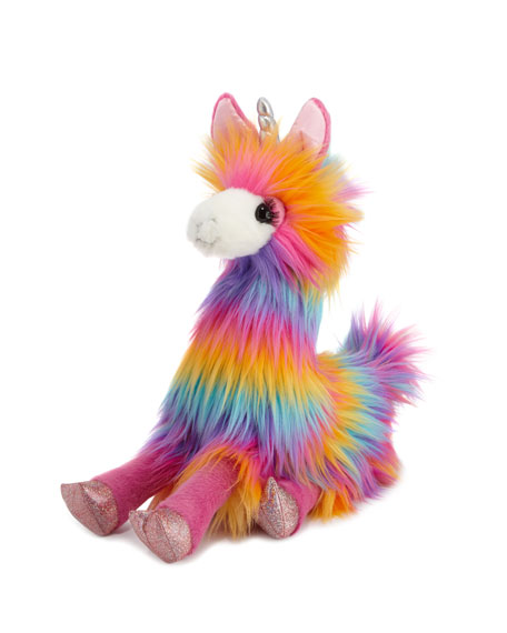 Douglas Lollipop the Rainbow Fuzzle Llamacorn Plush Toy