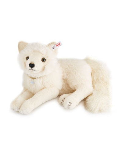 Limited Edition Winter Fox Stuffed Toy