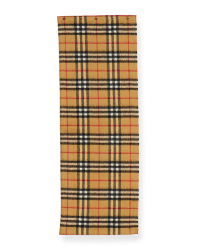 Kids' Vintage Check Cashmere Snood Scarf
