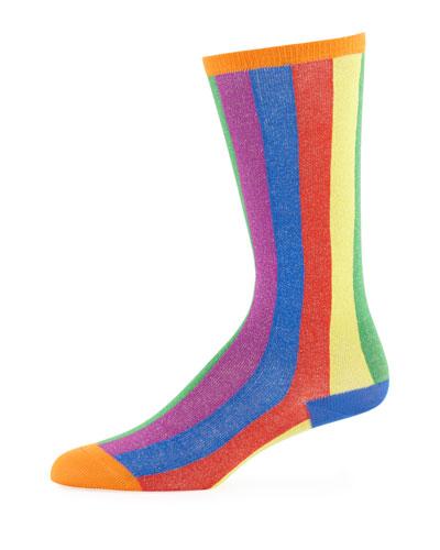 Kids' Tall Striped Socks