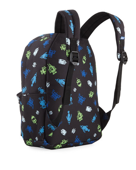 Kids' The Goldie Robot-Print Backpack