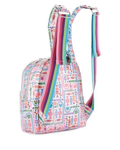 368411d790 Bari Lynn Girls  Candy-Print Shimmer Backpack