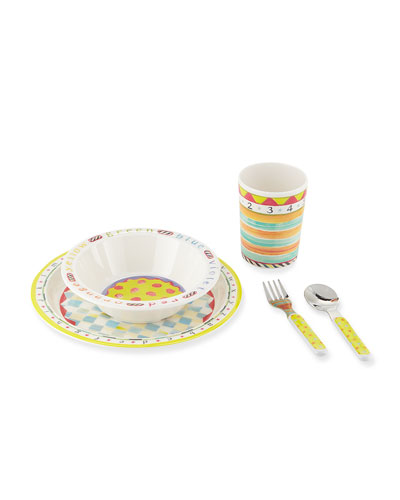 Kids' ABC Starter Dinnerware Set