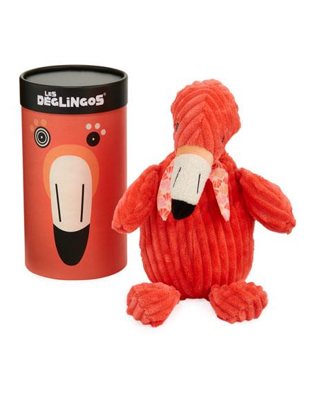 Les Deglingos Simply Flamingos the Flaming Stuffed Toy