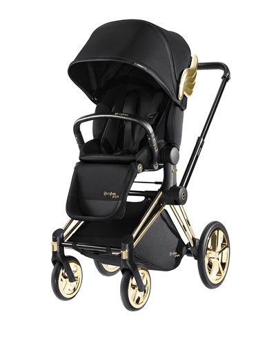 Cybex x Jeremy Scott Priam Lux Seat with Priam Frame Trekking.