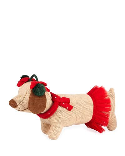 Knit Dog Doll  14
