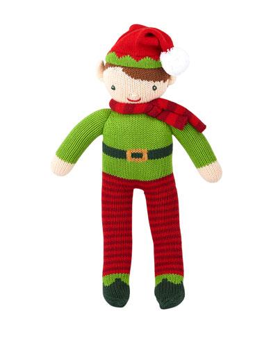 Knit Boy Elf Doll  14
