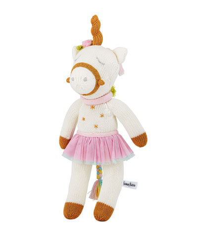 Knit Unicorn Doll  14