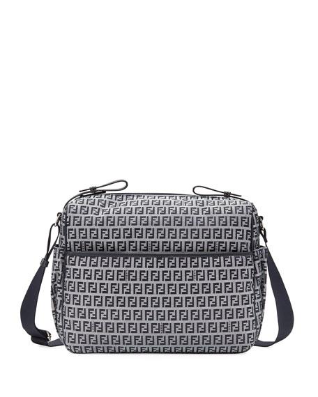 c6651e53c451 Fendi FF Canvas Diaper Bag