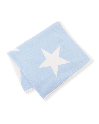 Scattered Stars Cashmere Baby Blanket
