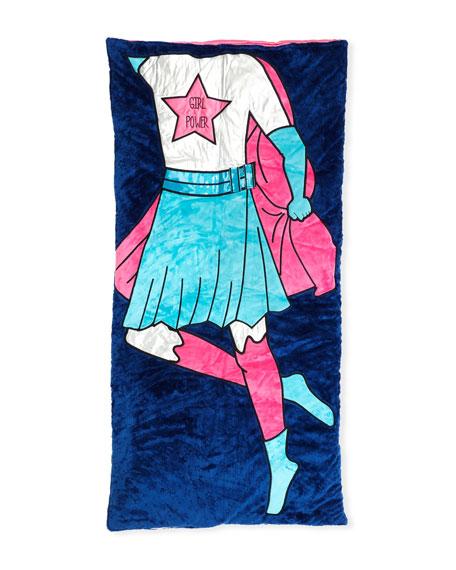 Girls' Raven Super Girl Sleeping Bag