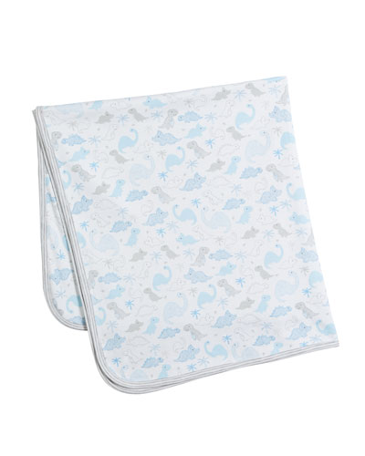 Roarsome Reversible Pima Baby Blanket