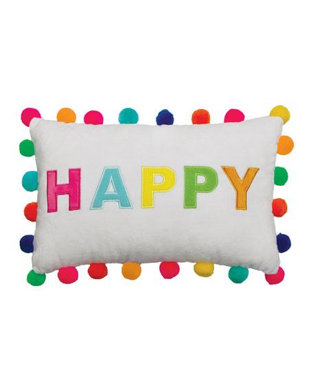 Iscream Happy Pompom Scented Pillow