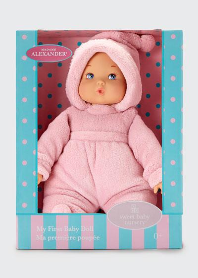 12 My First Baby Doll  Powder Pink