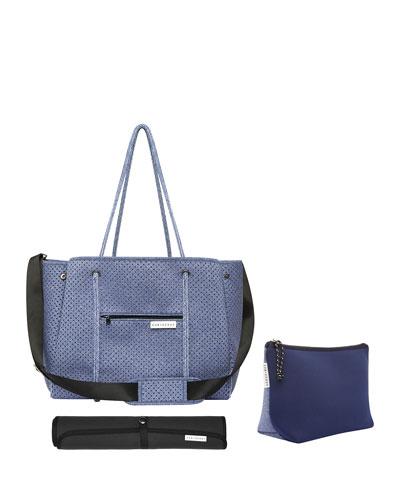 The Mumset 3-Piece Baby Bag Set  Blue