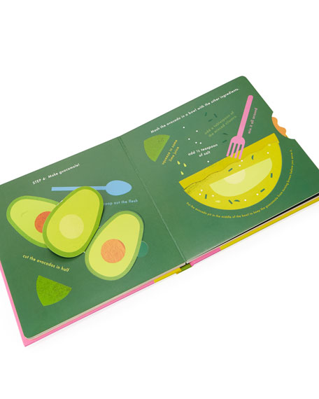 """""""Cook In A Book"""" Children's Interactive Recipe Book Set"""